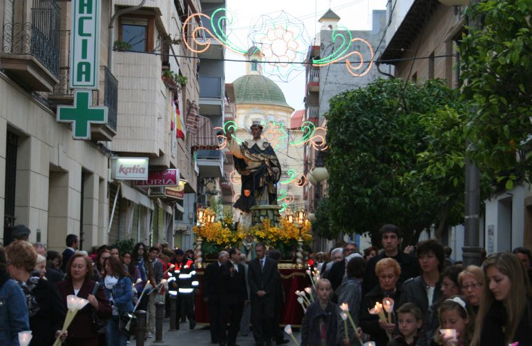 Procesión del patrón de San Vicente del Raspeig