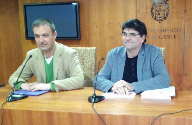Natxo Bellido y Miguel Angel Pavón en imagen de archivo