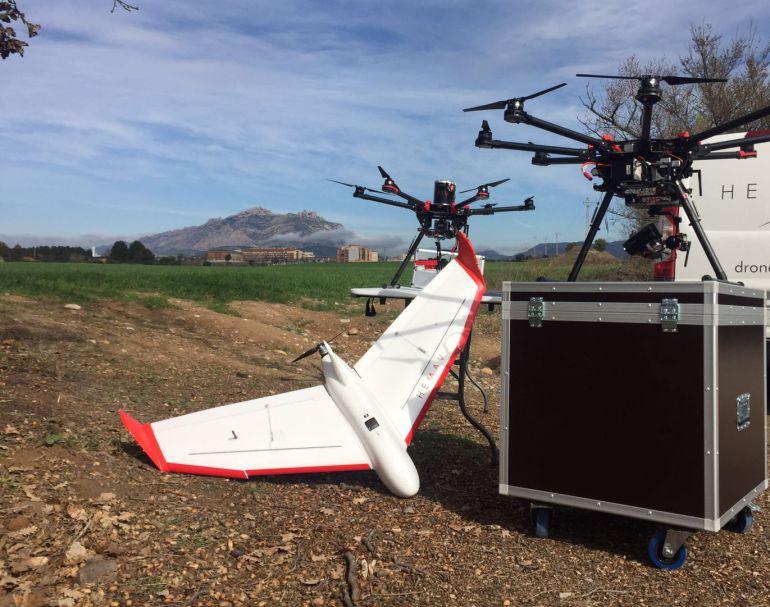 Usar drones en la agricultura incrementa un 10% el rendimiento de los cultivos