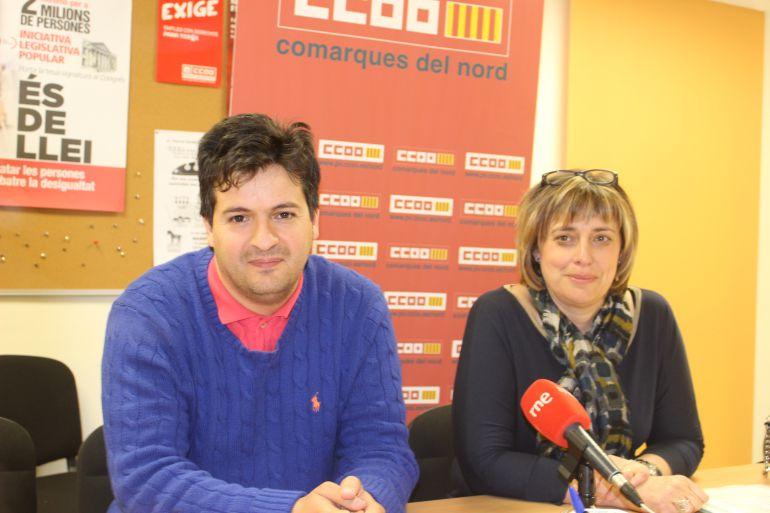 Imagen de la rueda de prensa celebrada esta mañana en Castellón