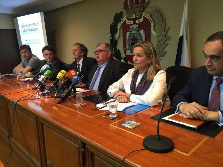 La Plataforma está conformada por la totalidad de los operadores judiciales de la provincia de Santa Cruz de Tenerife.