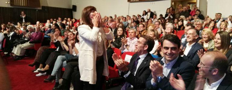 Beatriz Mato saluda a los participantes en el Congreso