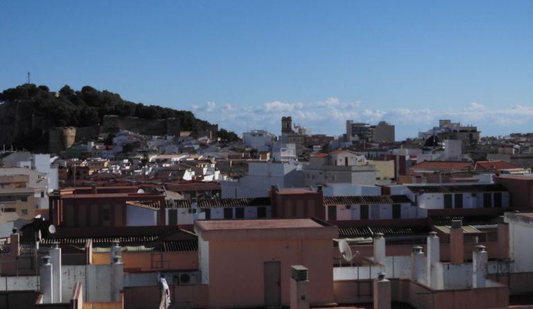 Vista de Dénia.
