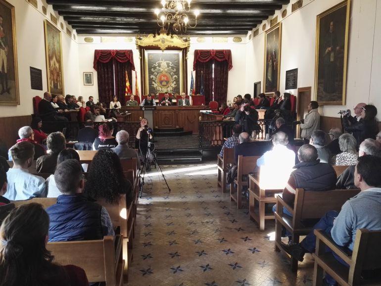 Pleno municipal en Elche
