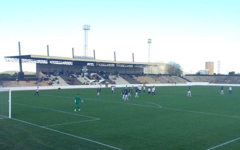Imagen de un partido de la Peña esta temporada