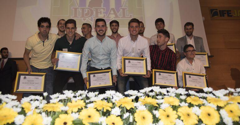 Campeones del 11 IDEAL de la Segunda Andaluza en la última edición.