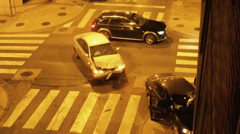 Accidente en la intersección de Doutor Gasalla con Poeta Cabanillas en Lugo