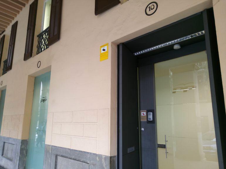 Sede Partido Popular en Palma.