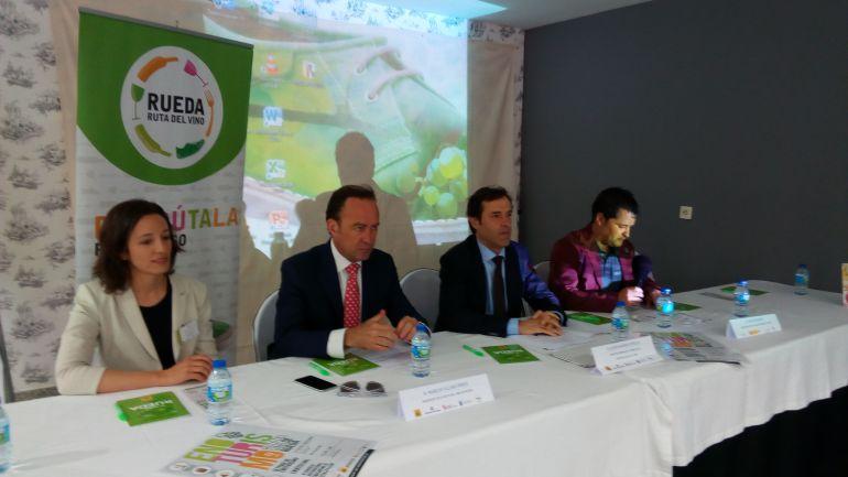 Acto inaugural del III Congreso Regional de Enoturismo que se celebra en Medina del Campo