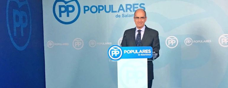Javier Iglesias volverá a presidir el PP de Salamanca