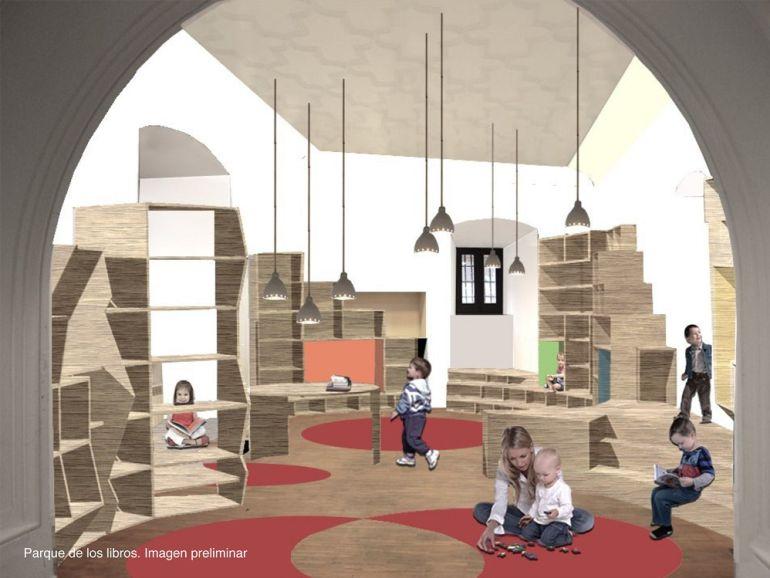 Casa de la Lectura. Parque Infantil