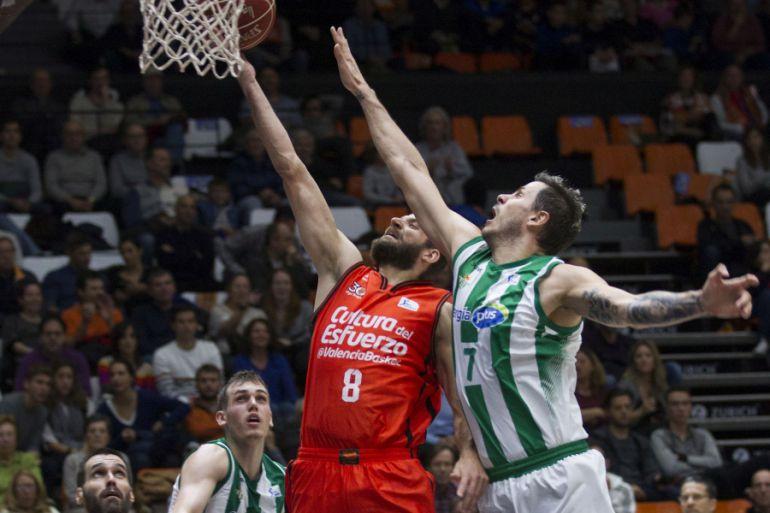 Valencia Basket contra el Betis