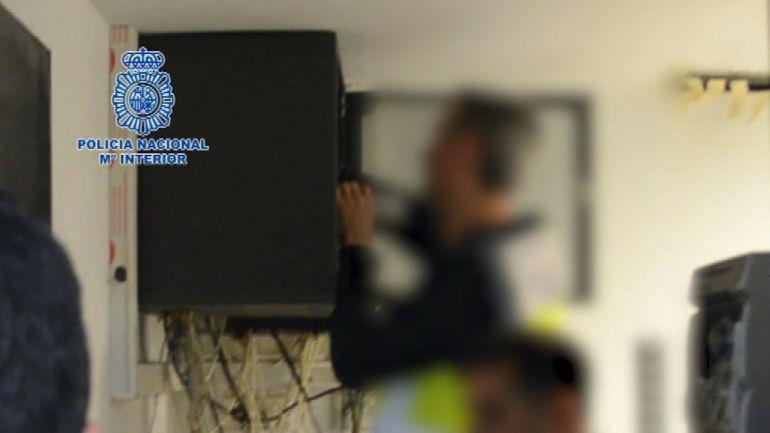 La Policía Nacional registró su vivienda