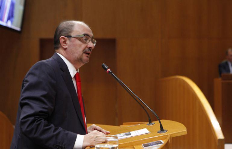 Javier Lambán, en una imagen de archivo