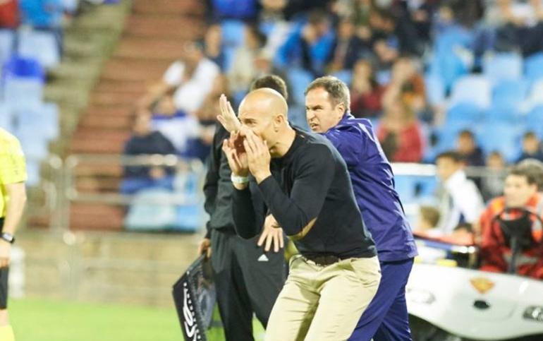 Láinez espera un partido físico contra el Mirandés