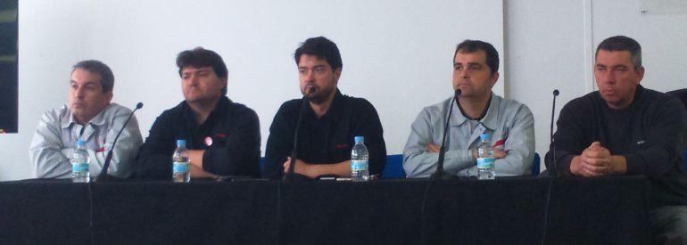 Los representantes de los trabajadores comparecen tras conocer la decisión de Nissan para la fábrica de Ávila