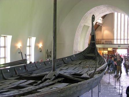 Típica embarcación vikinga