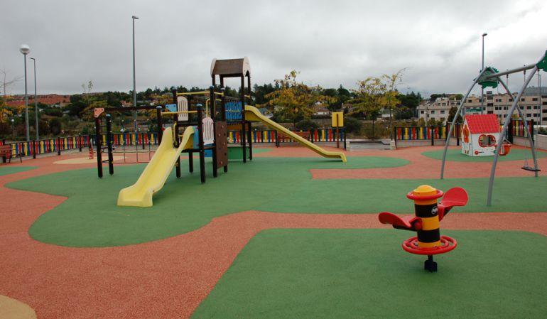 Parque de la calle Transiberiano en Colmenar Viejo, una de sus inversiones