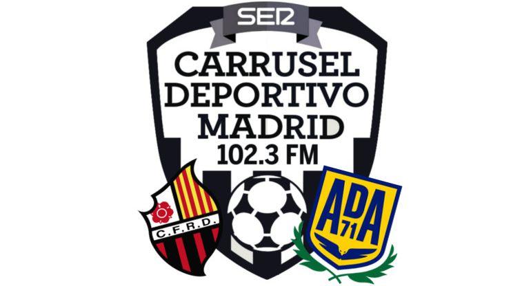 Reus Alcorcón en Carrusel deportivo Madrid
