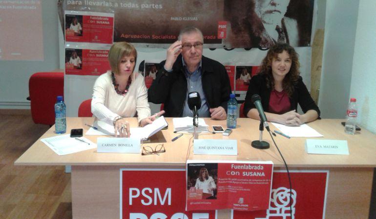 El ex alcalde de Fuenlabrada y diputado regional socialista, José Quintana, es uno de los que encabeza esta Plataforma.