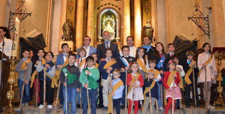 La Mondilla se celebra también con la participación de los niños