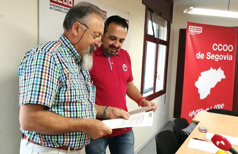Ccoo moviliza a los trabajadores de correos por los for Oficina de empleo de segovia