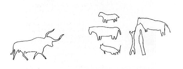 Dibujos de O`Kelly en la Guía Larrañaga.