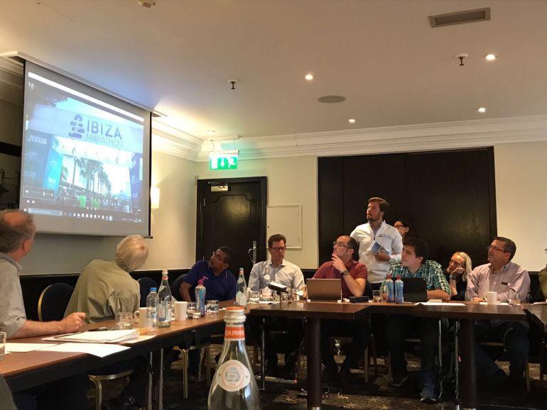 Imagen de la presentación de la prueba ibicencia en Londres
