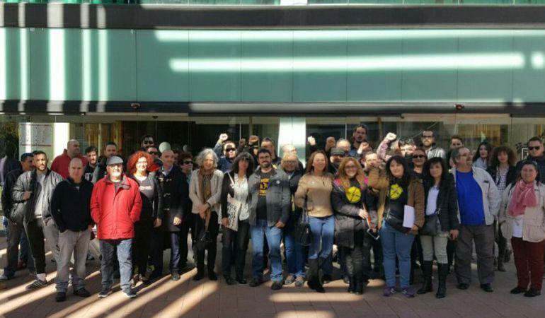 Absueltos tres vecinos de Alcorcón acusados de desórdenes en la huelga general de 2012