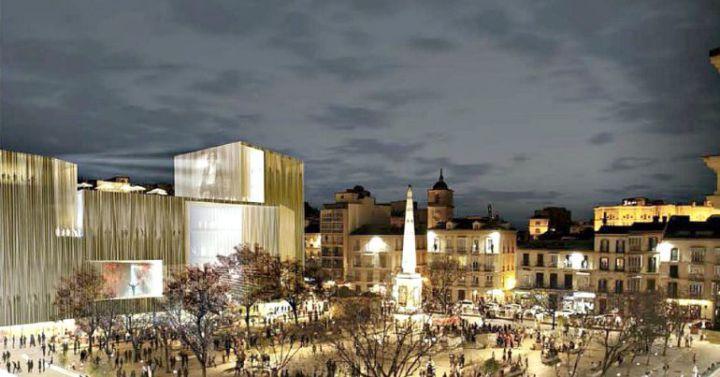 M laga municipal los arquitectos no quieren un traje a - Arquitectos malaga ...