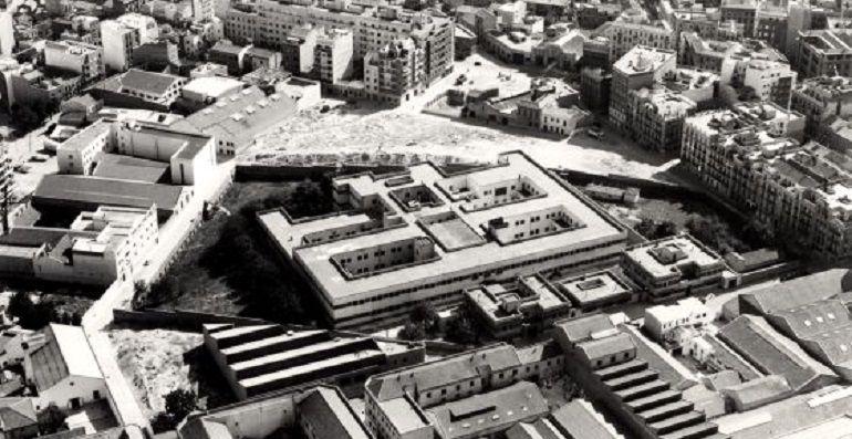 Una imagen de la antigua Prisión de Ventas,ya derruida
