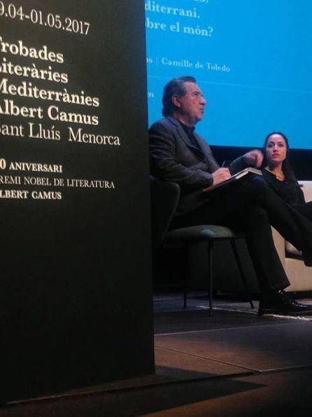 #TrobadesCamus. Javier Martín-Domínguez. Iñaki Gabilondo
