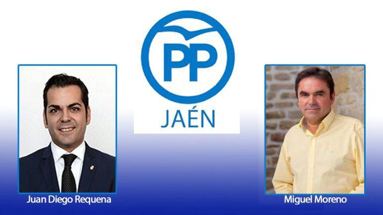Los dos candidatos a presidir el PP provincial