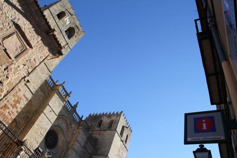 Vista de la Catedral de Sigüenza