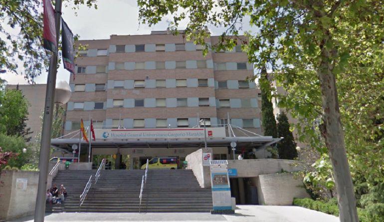 Fachada del Hospital Infantil Gregorio Marañón de Madrid