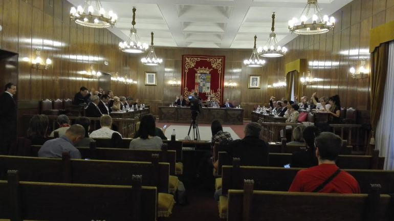 Pleno de la Diputación Provincial de Zamora