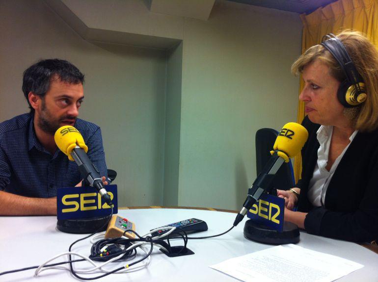 Xulio Ferreiro y Aida Pena