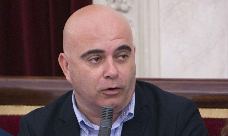 El concejal de Seguridad Ciudadana del Ayuntamiento de Cádiz, David Navarro