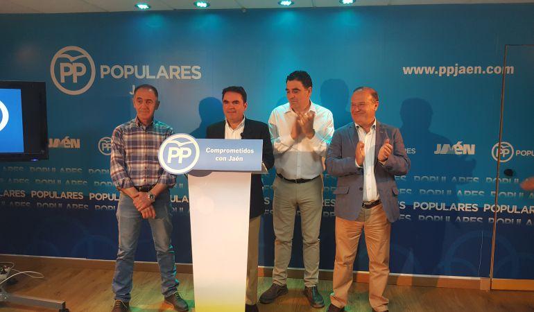 Rueda de prensa de Miguel Moreno