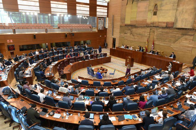 La Asamblea de Madrid.