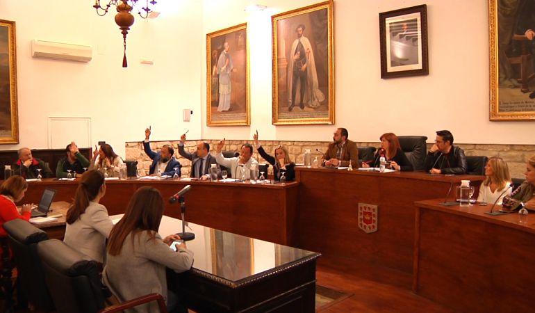 Pleno del Ayuntamiento de Úbeda
