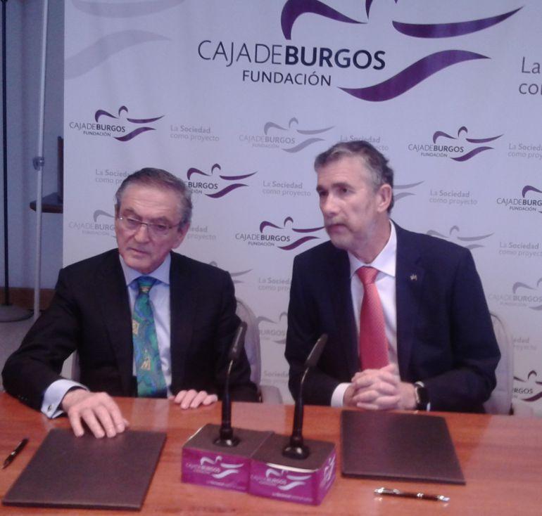 Ginés Clemente (izda) y Manuel Pérez Mateos