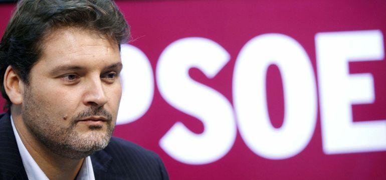 El portavoz del Grupo Municipal Socialista, José Ángel Martín.