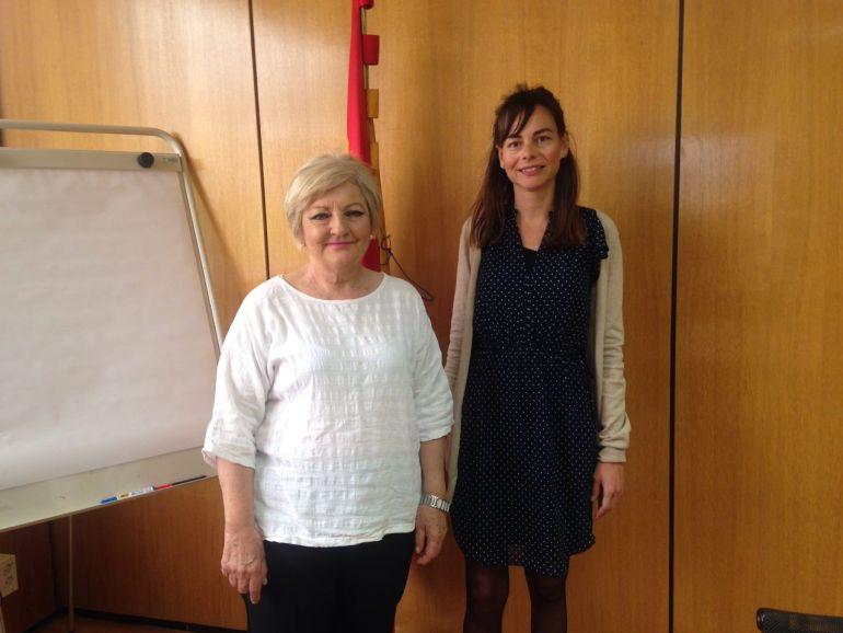 La directora general de Imserso y la consellera insular de Bienestar Social