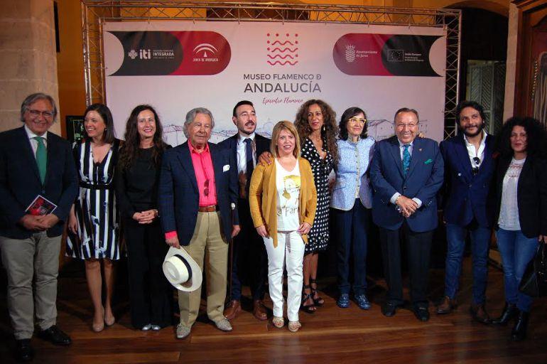 Imagen de la presentación del Museo Flamenco de Andalucía
