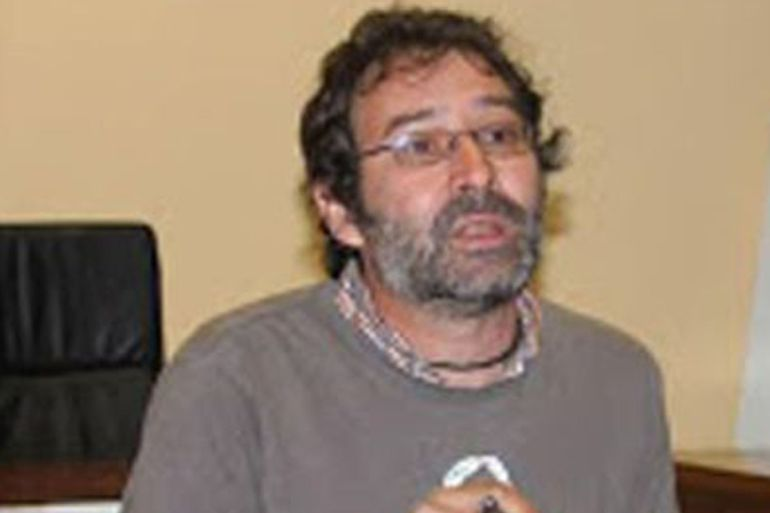 El coordinador de Izquierda Unida en Zamora, MIguel Ángel Viñas, encabeza la corriente crítica en Castilla y León