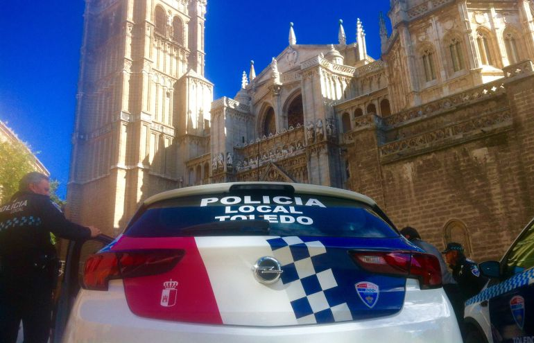 Resultado de imagen de policia local toledo semana santa