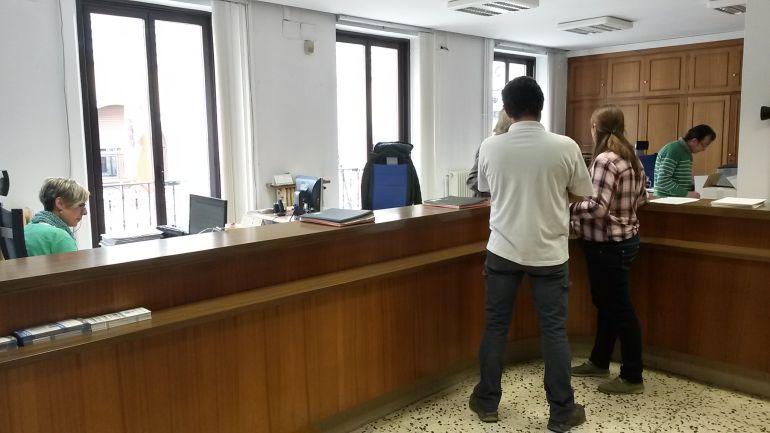 Oficinas del registro municipal