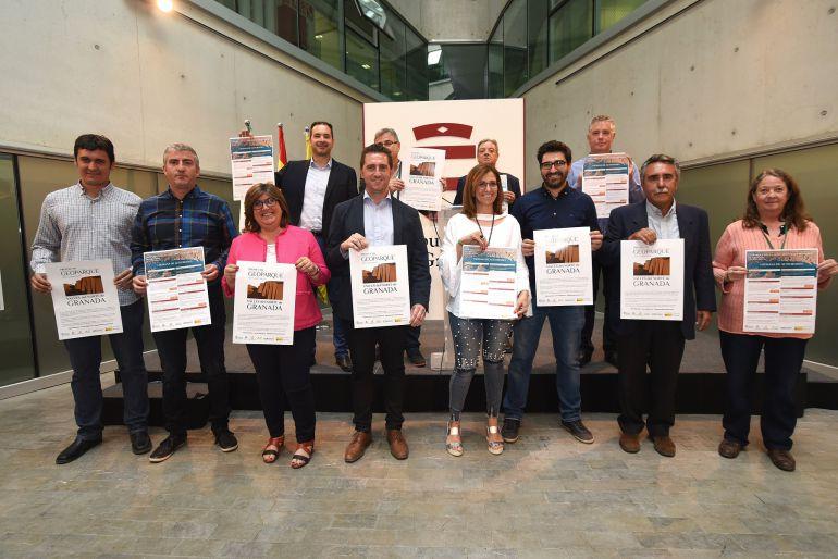 Presentación de la Semana de Actividades del Geoparque del Cuaternario en la sede de la Diputación de Granada