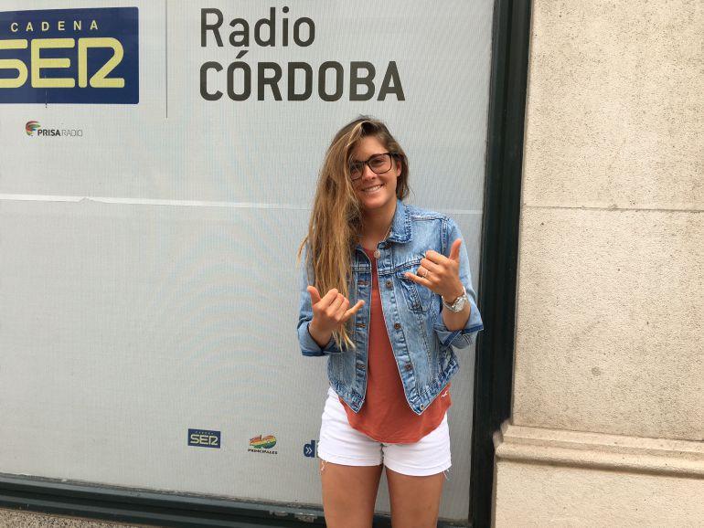 Gisela Pulido, en Radio Córdoba